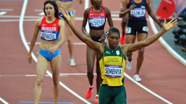 Mujeres Testosterona Hombres Competir Caster Semenya IAFF Niveles
