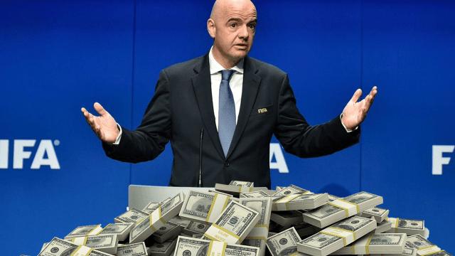Mundial FIFA Inversionistas Compra Gianni Infantino Bogota Copa Clubes