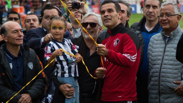 Jornada 17 Rafa Márquez Atlas vs Pachuca Homenaje Clausura 2018