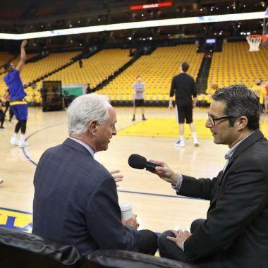 Robo Golden State Warriors Conductor TV Mike Shumann Brady Ortega