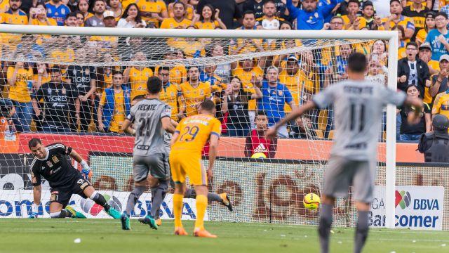 Tigres y Monterrey Clásico Regio que terminó en empate Goles Jornada 17 Clausura 2018