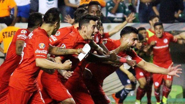 Copa MX, Toluca, Necaxa, Finalistas, Semifinalistas, Zacatepec, Santos, 2018
