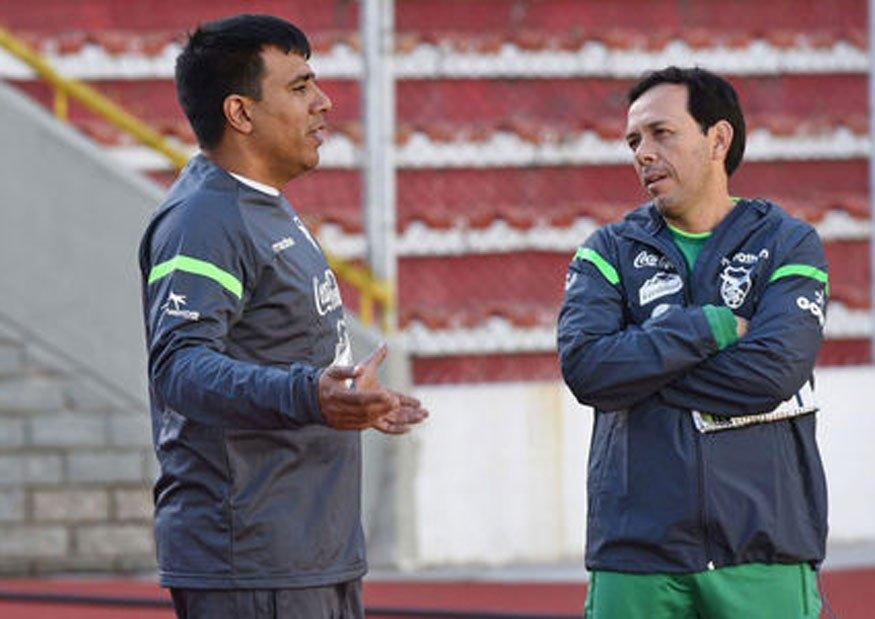 Entrenador Mexicano Eduardo Fentanes Selección Bolivia