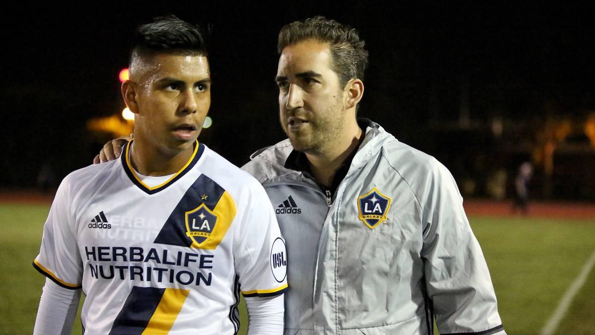 Efraín Álvarez Galaxy II USL Mexicano Histórico Goles