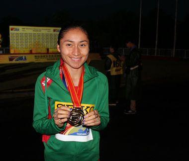 González medalla oro Mundial Equipos Marcha