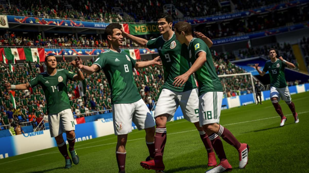 México Selección Mexicana FIFA Mundial Rusia 2018 Simulación