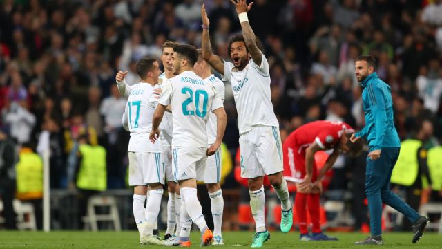 Real Madrid Bayern Múnich Champions League Semifinales