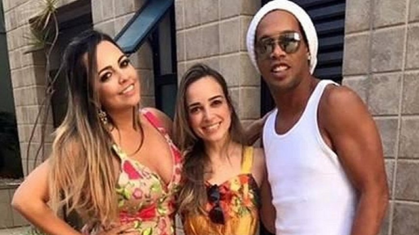 Ronaldinho Mujeres Quienes Son Matrimonio Beatriz Souza Priscilla Coelho