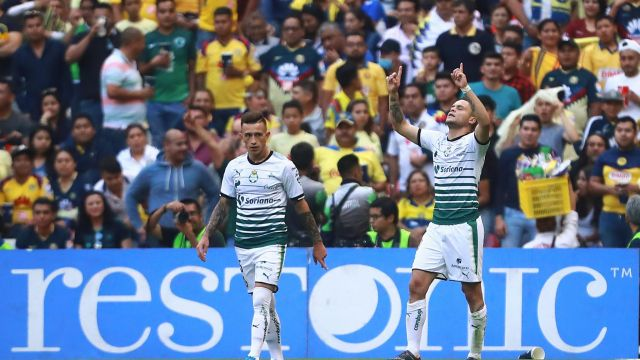 Santos América Toluca Final Liga MX Azteca Aguilas