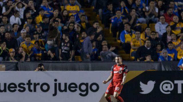 Sebastian Giovinvo MLS Toronto Tigres Apertura 2018