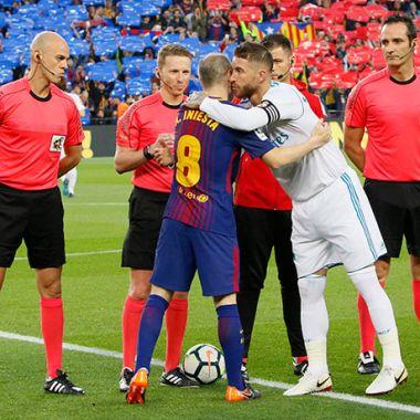 Sergio Ramos Andrés Iniesta Camiseta Playera Clásico
