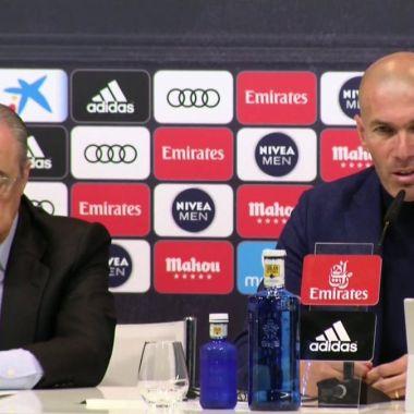 Oficial: Zidane anuncia su salida del Real Madrid
