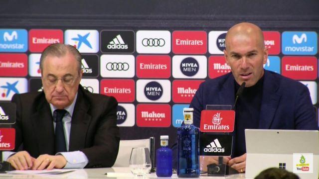 Zinedine Zidane Real Madrid Técnico Salida