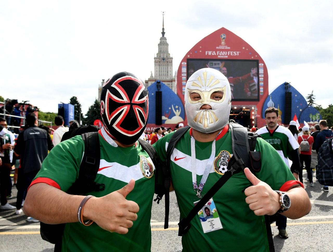 Aficionados México Inauguración Mundial Rusia 2018