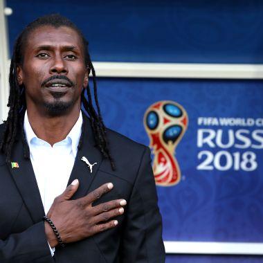 Aliou Cissé, Entrenador Senegal, Cissé, Senegal