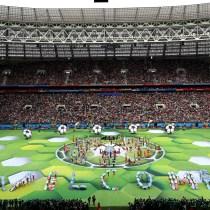 Aburrida Inauguración Inicia Mundial Rusia 2018