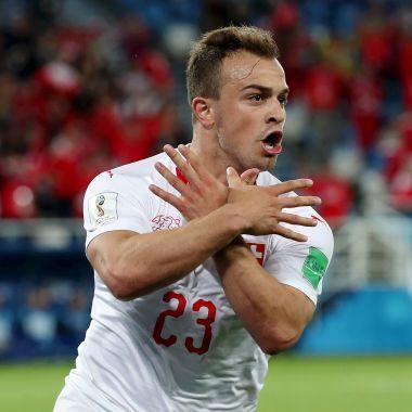 Estos dos jugadores de Suiza están siendo investigados por la FIFA