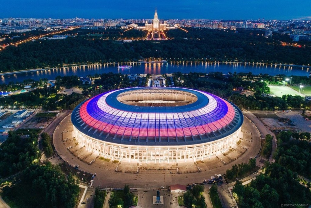 Resultado de imagen para mundial rusia 2018 inauguracion