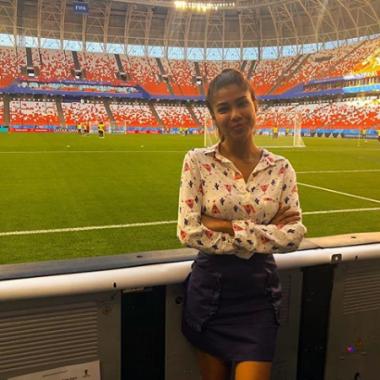 Periodista es acosada en el Mundial de Rusia 2018