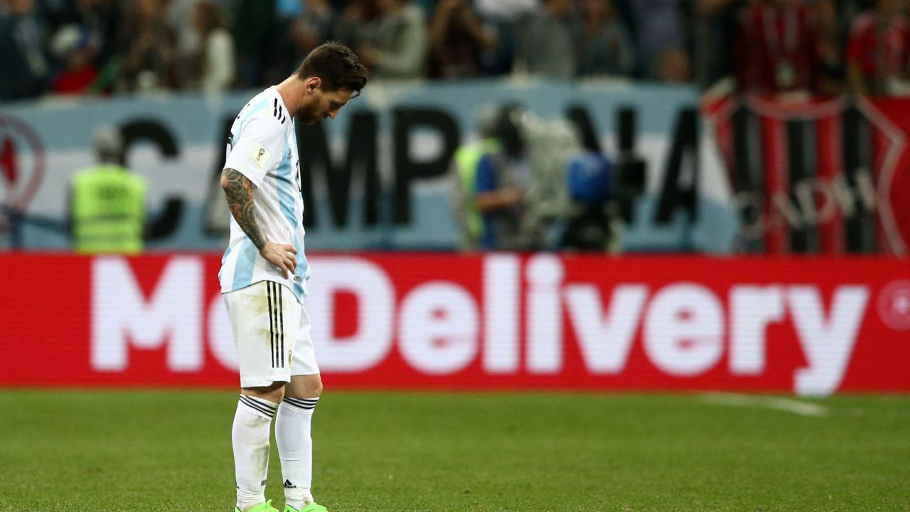 Leo Messi, Mundial 2018, Argentina, Estadísticas