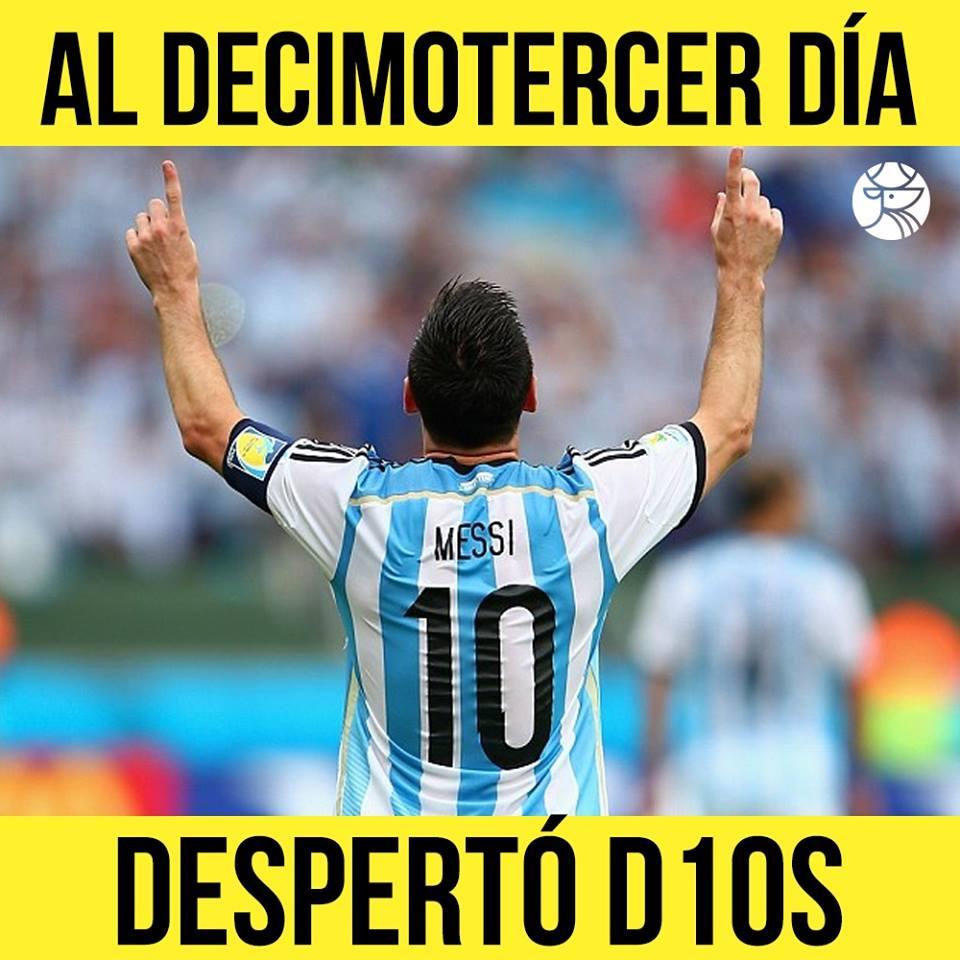 Lionel Messi Dios