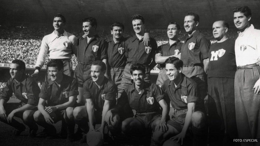 México jugó un Mundial con la camiseta del Cruzeiro