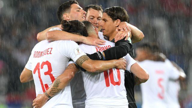 Previa, Partido, Suiza vs Costa Rica, Mundial