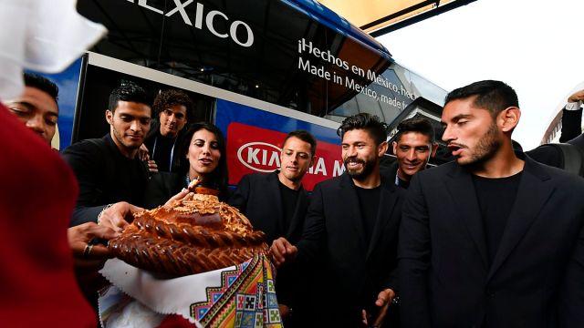 Selección Mexicana Mundial Rusia 2018 Sede Llegada