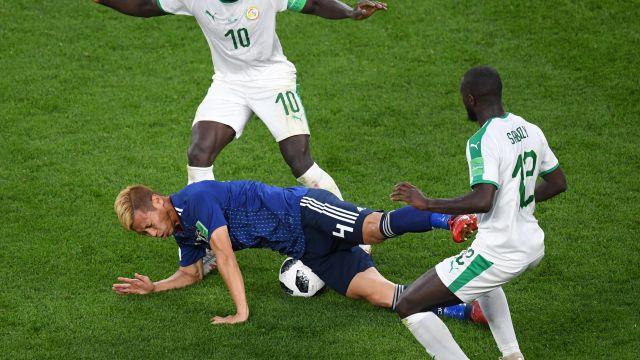 Senegal Japón Mundial Rusia 2018 Los Pleyers