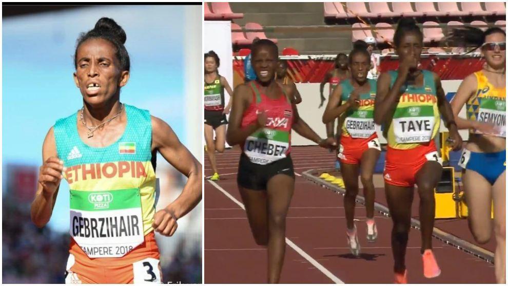Girmawit Gebrzihair la atleta que pone en jaque a la IAAF atleta de ¿16 años? IAAF IAAF Campeonato Mundial Sub-20 Atletismo deportistas que aparentan más edad de la que dicen tener Joseph Minala