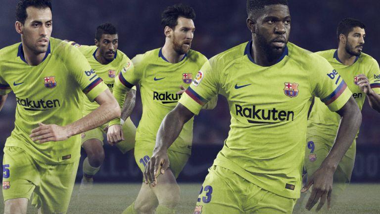 FC Barcelona presenta su nuevo uniforme de visitante 3d0e397ce5eb8
