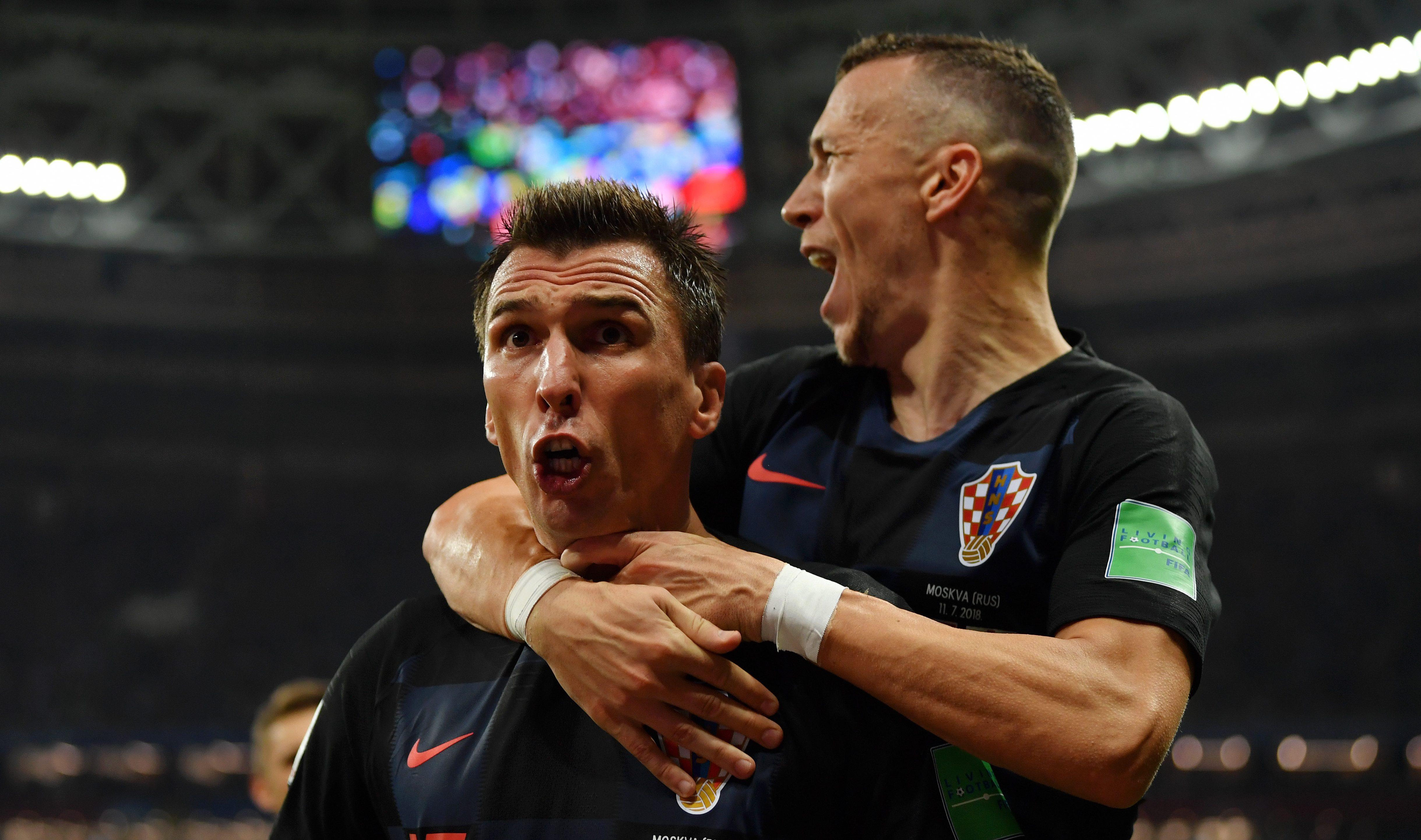 Croacia Inglaterra Mundial Rusia 2018 Semifinal Goles