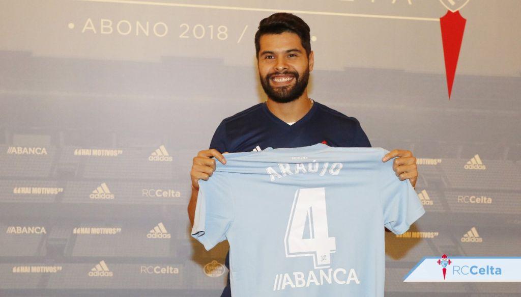 Néstor Araujo Presentación Celta Vigo Relevancia