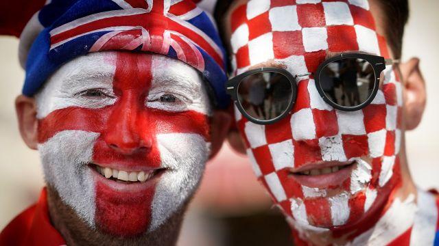 En Vivo, Partido, Inglaterra Croacia, Semifinal