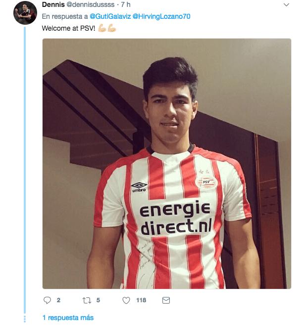 Erick Gutiérrez PSV Eindhoven Holanda Pachuca Fichaje