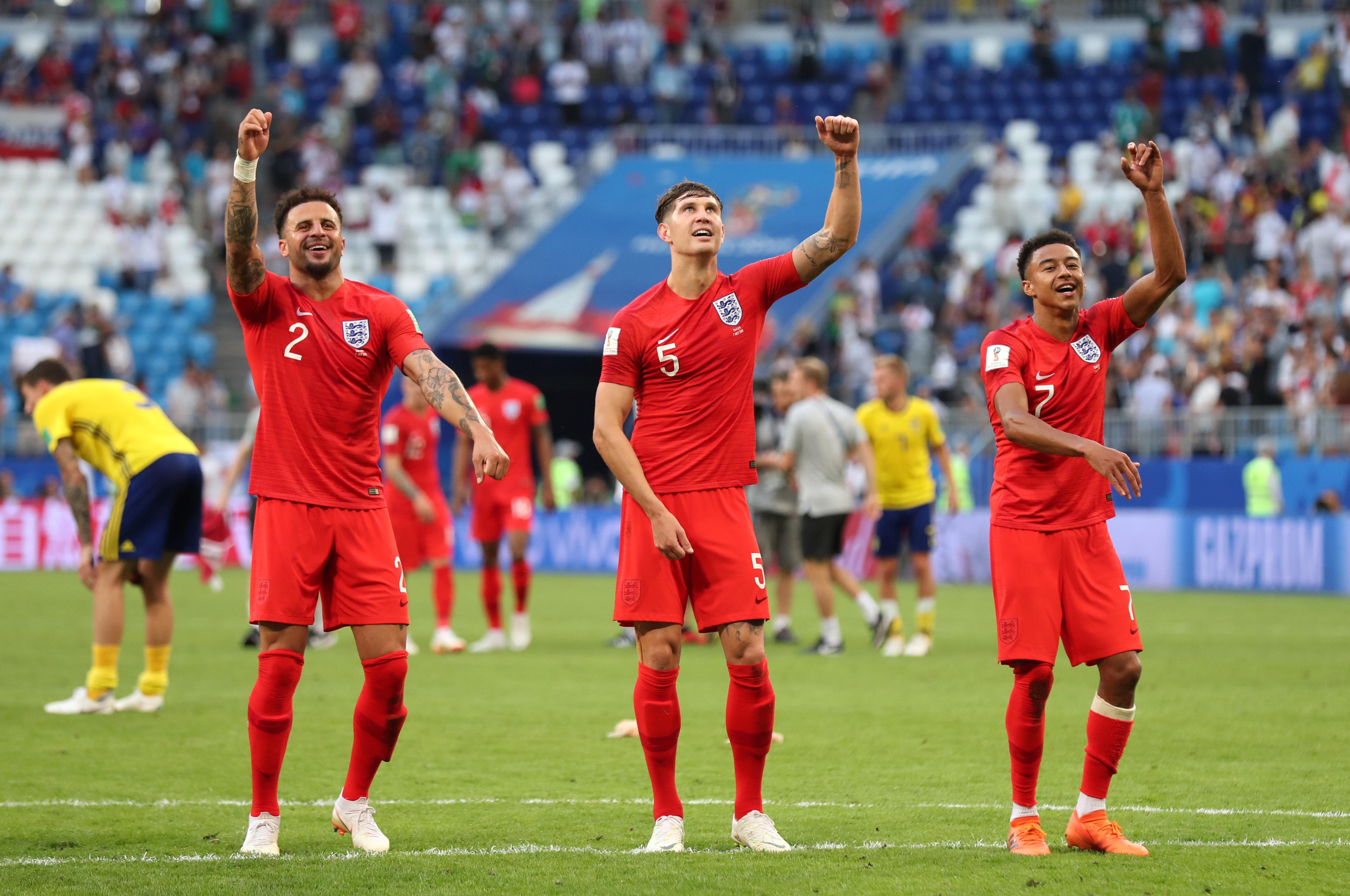 Inglaterra Suecia Mundial Rusia 2018 Cuartos de Final Goles