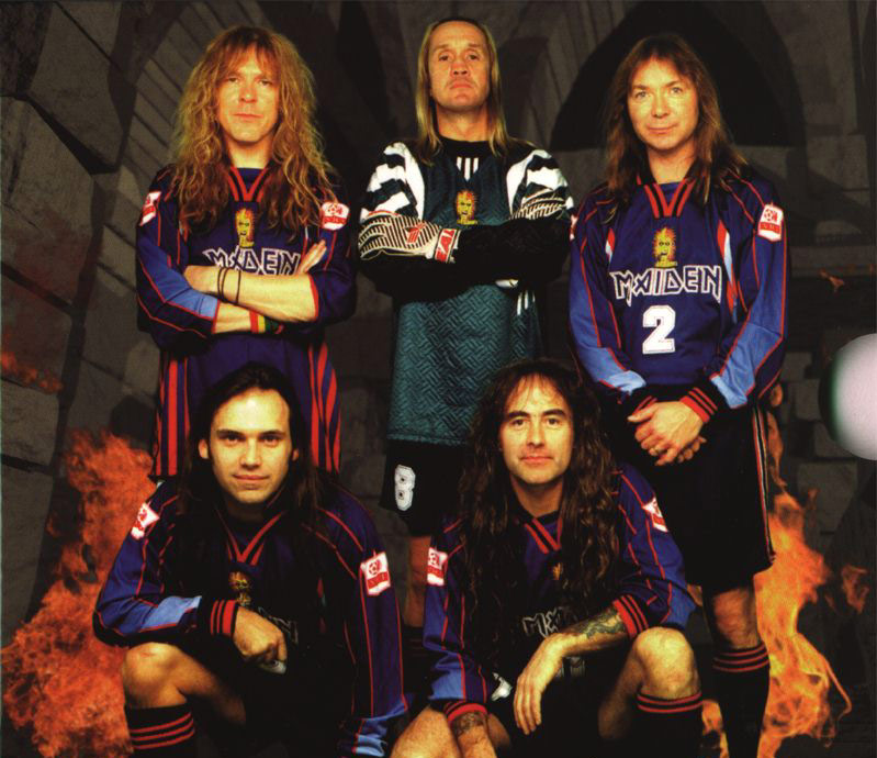 Iron Maiden, Futbol, West Ham, Steve Harris