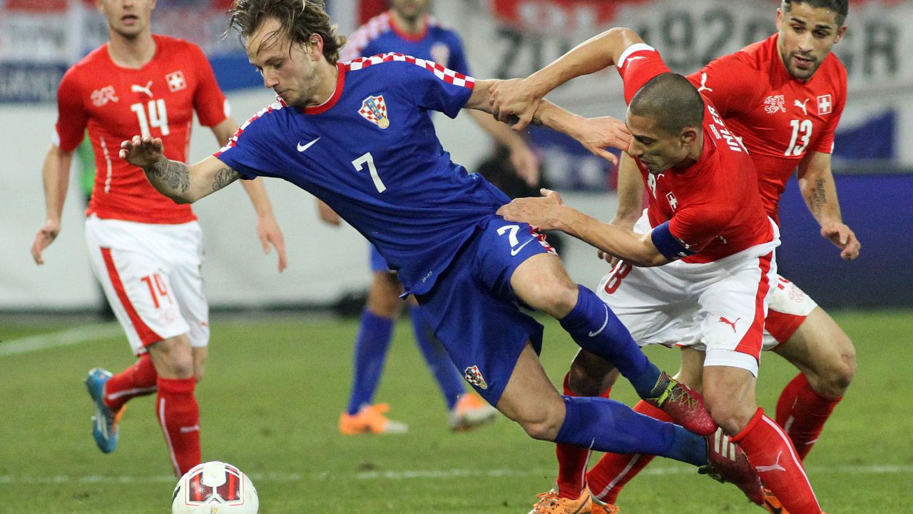 Ivan Rakitic, Croacia, Suiza, Mundial 2