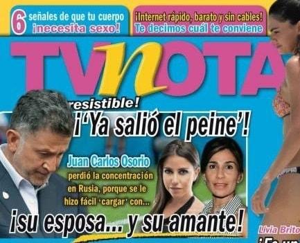 Juan Carlos Osorio Amante Rusia