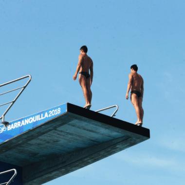 México Juegos Centroamericanos Barranquilla 2018 Clavados Rommel Pacheco