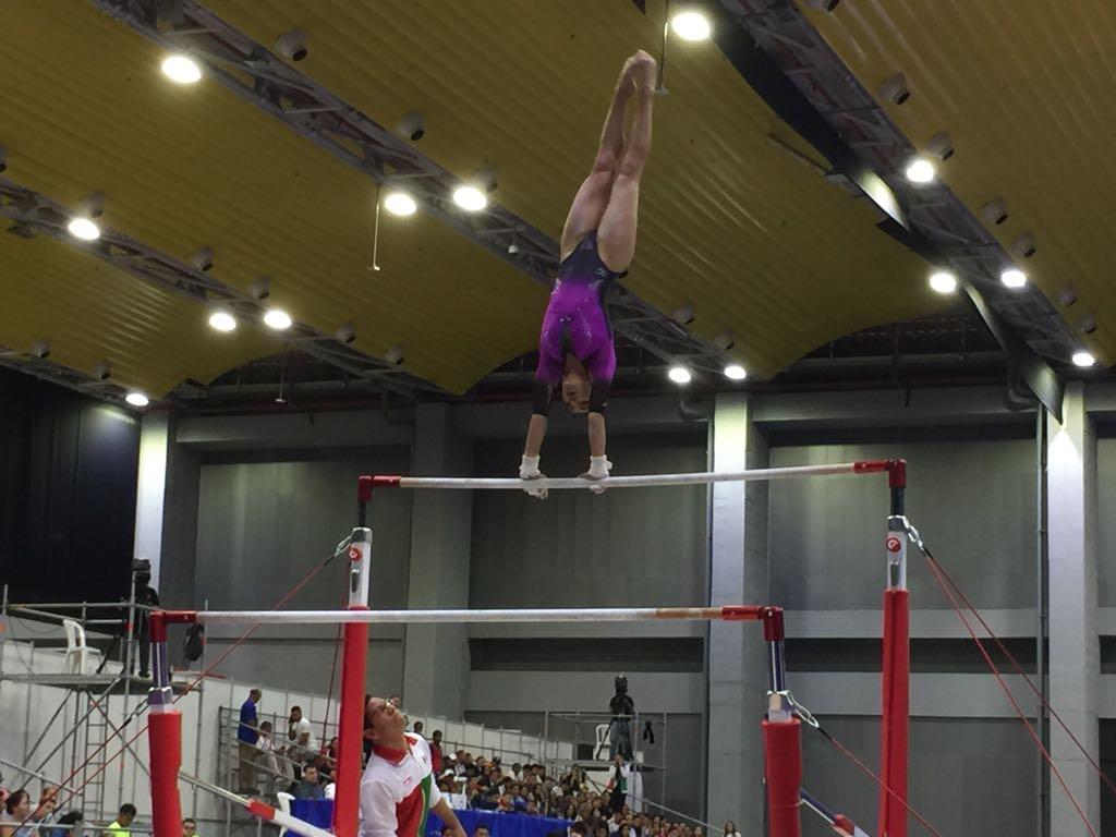 MéxicoJuegos Centroamericanos, Barranquilla 2018, Medallas, Gimnasia