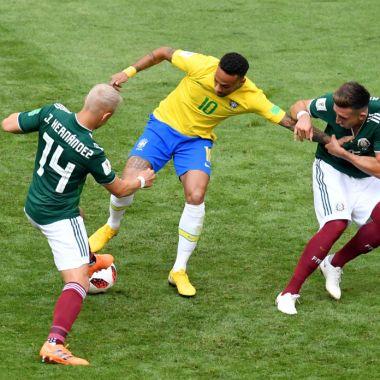 Brasil víctima de la maldición mexicana en Mundiales