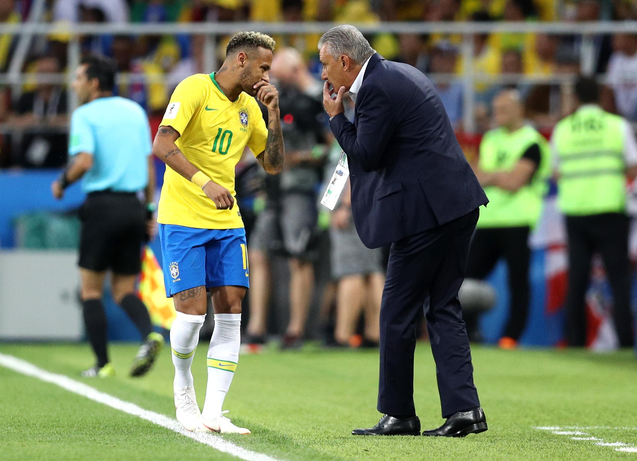 Neymar Tite Brasil 2012 Los Pleyers