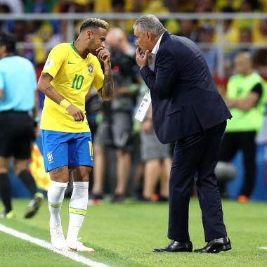 Tite, entrenador de Brasil, reventó a Neymar por fingir