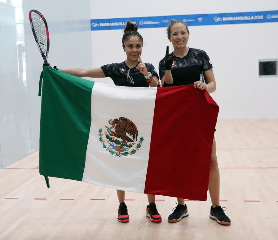 Paola Longoria Racquetbol Medallas México Juegos Centroamericanos