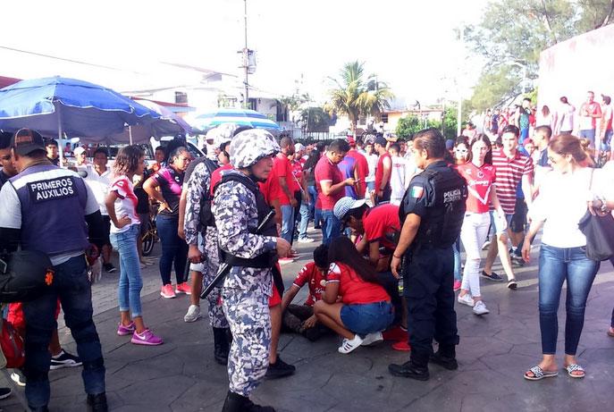 Pumas Veracruz, Luis Pirata Fuente, Violencia, Liga MX