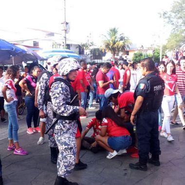 Violencia previo al partido Veracruz vs Pumas [Video]