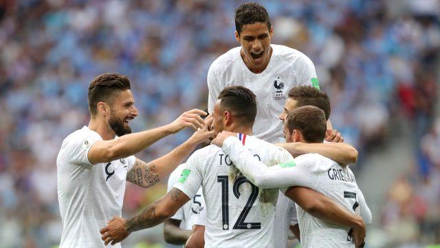 Resultado Uruguay Francia Rusia 2018 Pleyers