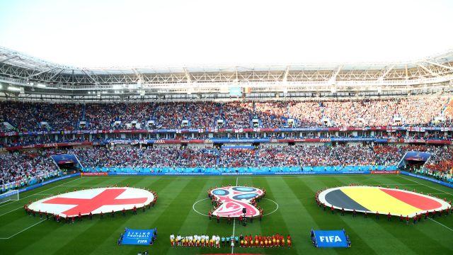 Tercer lugar, Rusia 2018, Bélgica, Inglaterra