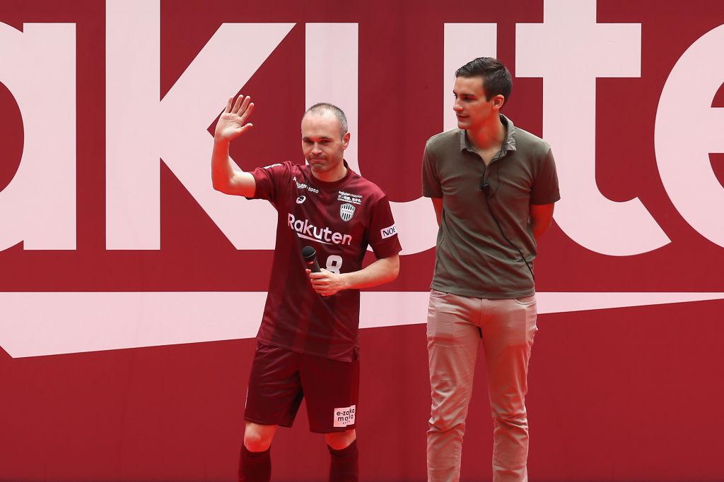 Andrés Iniesta Presentación Vissel Kobe Los Pleyers